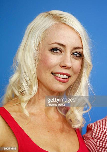 Actress and scriptwriter Lorelei Lee attends the Cherry Photocall during day eight of the 62nd Berlin International Film Festival at the Grand Hyatt...