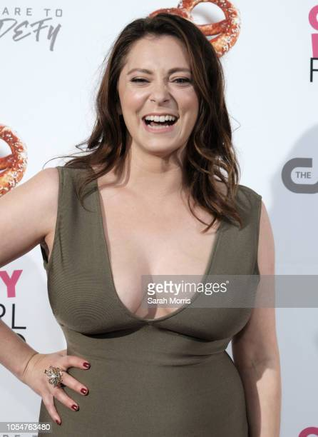 Actress and series cocreator Rachel Bloom attends the 'Crazy ExGirlfriend' season 4 premiere party at El Cid on October 13 2018 in Los Angeles...
