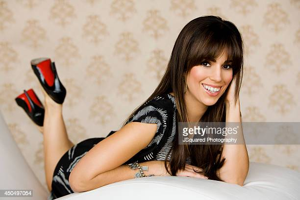 Actress and singer Ana Ortiz is photographed for Self Assignment on January 1 2007 in Los Angeles California