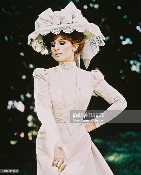 Actress and singer Barbra Streisand in a promotional still for the film 'Hello Dolly' 1969