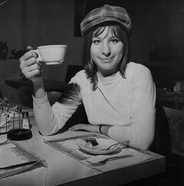 Actress and singer Barbra Streisand.