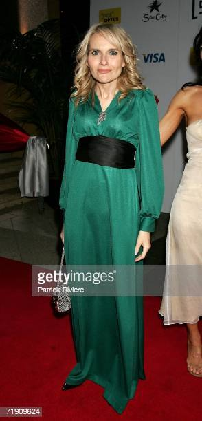 Actress and singer Belinda Emmett attends Channel Seven's TV Turns 50 The Event That Stopped a Nation at Star City on September 17 2006 in Sydney...