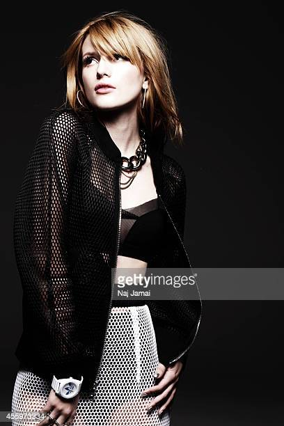 Actress and singer Bella Thorne is photographed for Bullett on March 1, 2014 in Los Angeles, California.