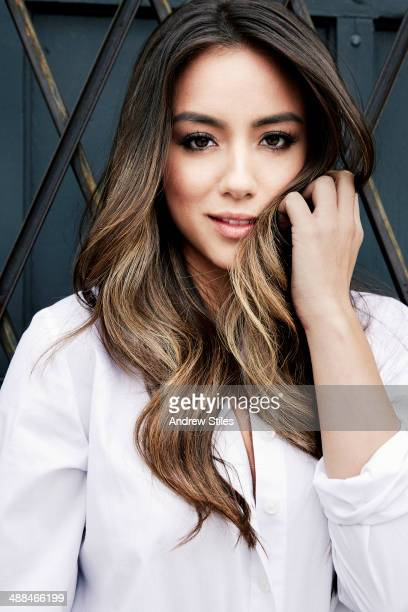 Actress and singer Chloe Bennet is photographed for Chicago Sun Times Sunday Splash on February 6 2014 in Venice California COVER IMAGE