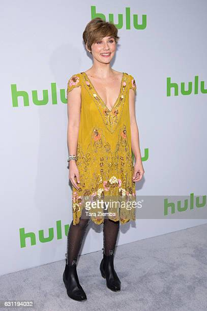 Actress and singer Clare Bowen attends the 2017 Hulu Television Critics Association winter press tour at Langham Hotel on January 7, 2017 in...