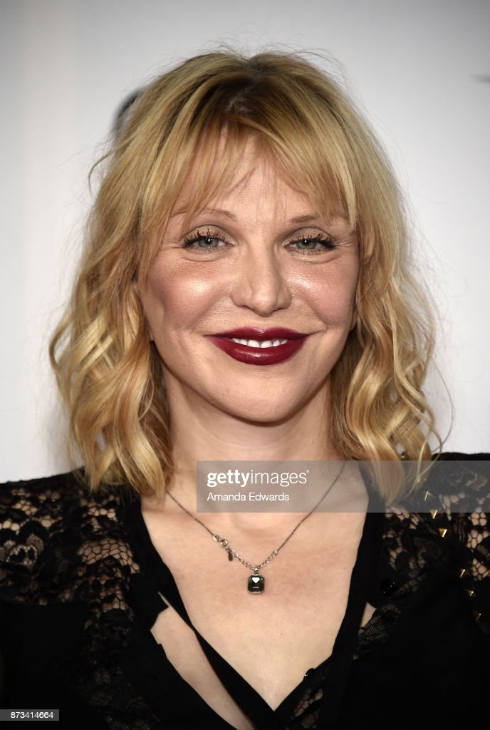 Actress and singer Courtney Love arrives at the AFI FEST 2017 Presented By Audi - screening of 'The Disaster Artist' at the TCL Chinese Theatre on November 12, 2017 in Hollywood, California.