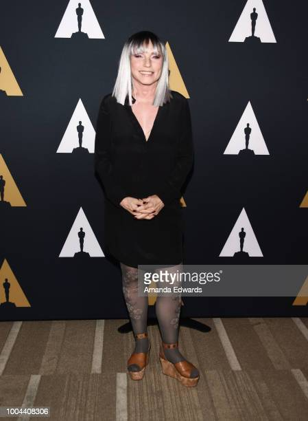 Actress and singer Deborah Harry arrives at The Academy Presents 'Hairspray' 30th Anniversary at the Samuel Goldwyn Theater on July 23 2018 in...