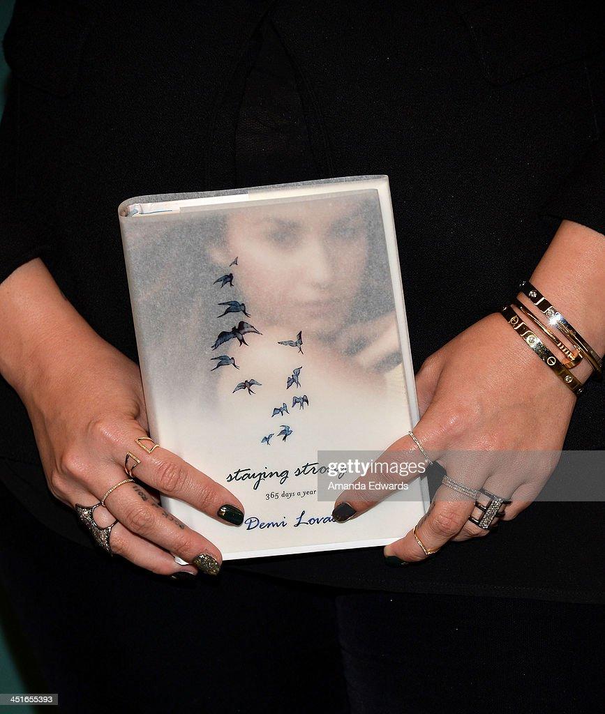 Demi Lovato Signs Her New Book