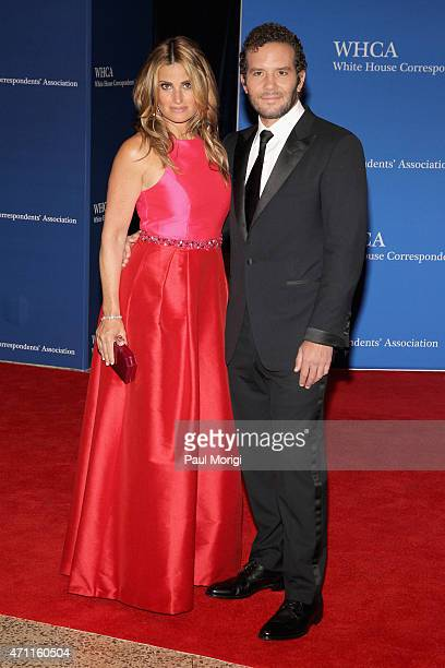 Actress and singer Idina Menzel and Aaron Lohr attend the 101st Annual White House Correspondents' Association Dinner at the Washington Hilton on...
