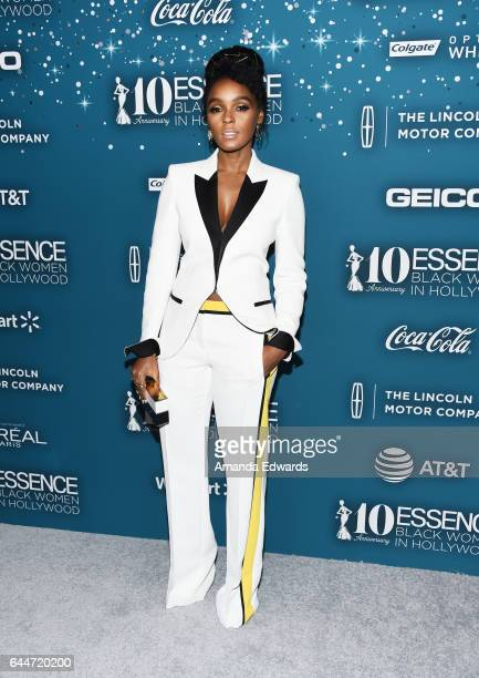 Actress and singer Janelle Monae arrives at the Essence 10th Annual Black Women in Hollywood Awards Gala at the Beverly Wilshire Four Seasons Hotel...