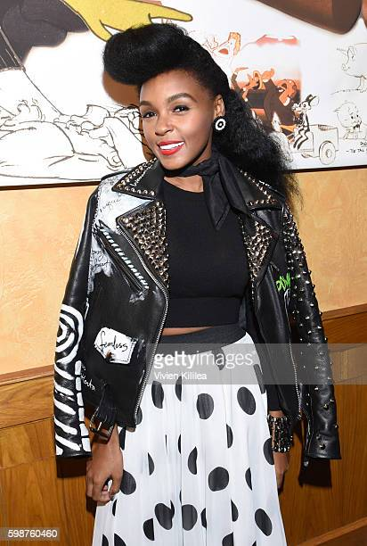 Actress and singer Janelle Monae attends a screening of Moonlight at the Chuck Jones' Cinema during the Telluride Film Festival 2016 on September 2...
