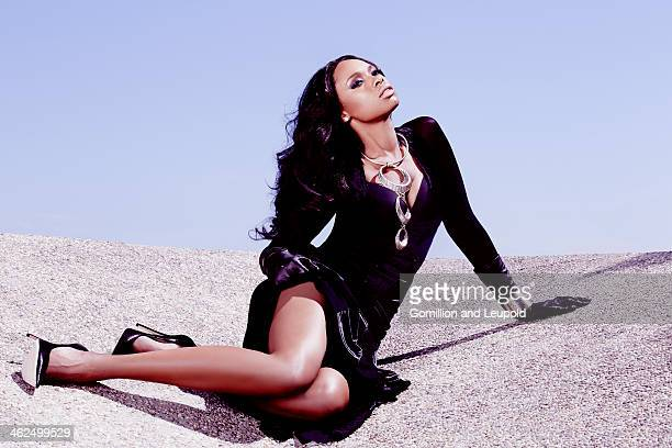 Actress and singer Jennifer Hudson is photographed for Angeleno Magazine on August 1 2013 in New York City
