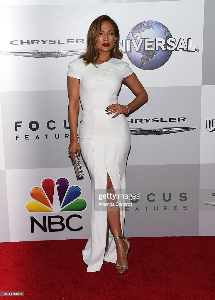 Actress and singer Jennifer Lopez arrives at NBCUniversal's 73rd Annual Golden Globes After Party at The Beverly Hilton Hotel on January 10, 2016 in Beverly Hills, California.