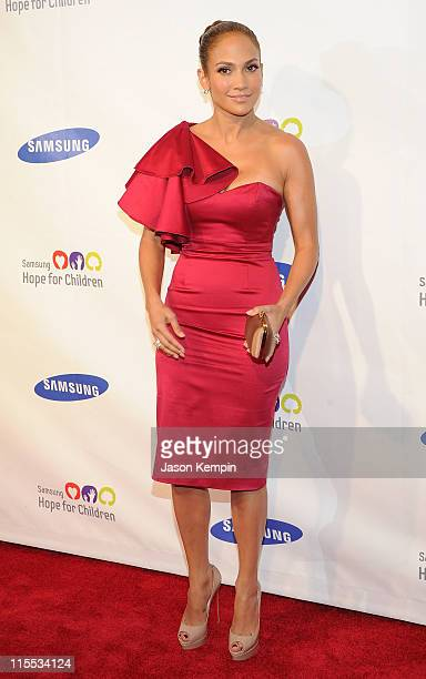 Actress and singer Jennifer Lopez attends the Samsung Hope for Children gala at Cipriani Wall Street on June 7 2011 in New York City