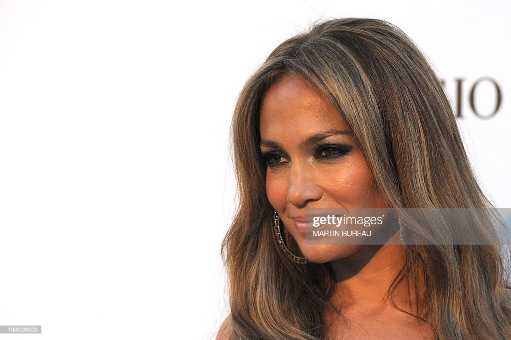 US actress and singer Jennifer Lopez poses while arriving to attend the 2010 amfAR's Cinema Against Aids on May 20, 2010 in Antibes, southeastern France.