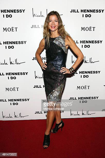 Actress and singer Jill Hennessy attends the album release party for Jill Hennessy's I Do at The Cutting Room on October 5 2015 in New York City