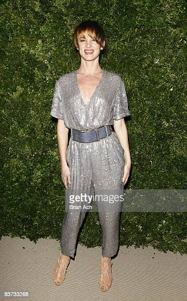 Actress and singer Juliette Lewis attends the 5th Anniversary of the CFDA/Vogue Fashion Fund at Skylight Studios on November 17, 2008 in New York...