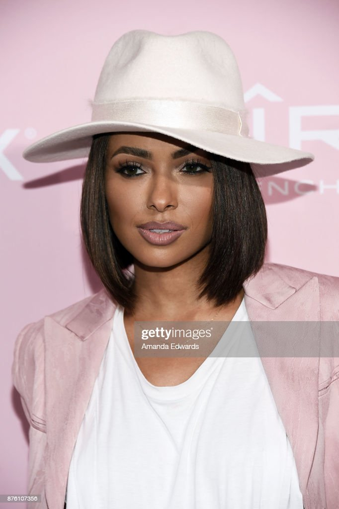 Actress and singer Kat Graham arrives at Variety's 1st Annual Hitmakers Luncheon at Sunset Tower on November 18, 2017 in Los Angeles, California.