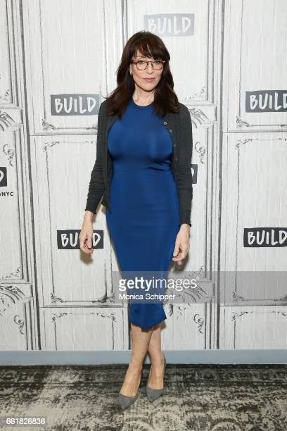 Actress and singer Katey Sagal attends Build Series Presents Katey Sagal Discussing 'Grace Notes' at Build Studio on March 31 2017 in New York City