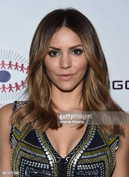 Actress and singer Katharine McPhee arrives at the Annual Brent Shapiro Foundation for Alcohol and Drug Prevention Summer Spectacular on September 17...