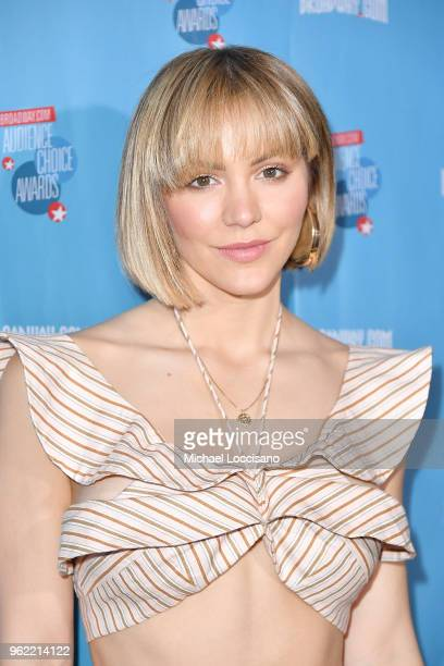 Actress and singer Katharine McPhee attends the Broadwaycom Audience Choice Awards at 48 Lounge on May 24 2018 in New York City