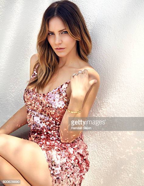 Actress and singer Katharine McPhee is photographed for Ocean Drive Magazine on August 5 2016 in Los Angeles California PUBLISHED IMAGE