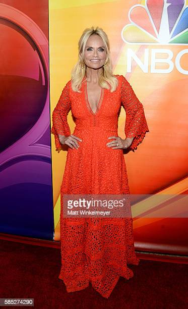 Actress and singer Kristin Chenoweth attends the NBCUniversal press day during the 2016 Summer TCA Tour at The Beverly Hilton Hotel on August 2 2016...