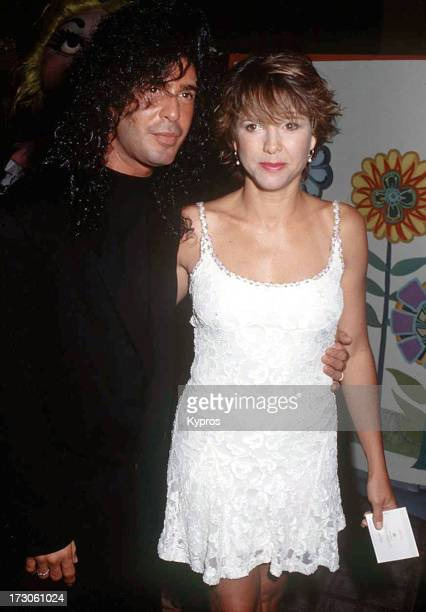 Actress and singer Kristy McNichol with hairdresser Joey Corsaro at the 30th Anniversary Celebration of the St Jude Children's Research Hospital on...