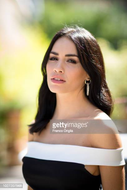 Actress and singer Lali Esposito poses for a portrait session during the 75th Venice Film Festival on September 5 2018 in Venice Italy