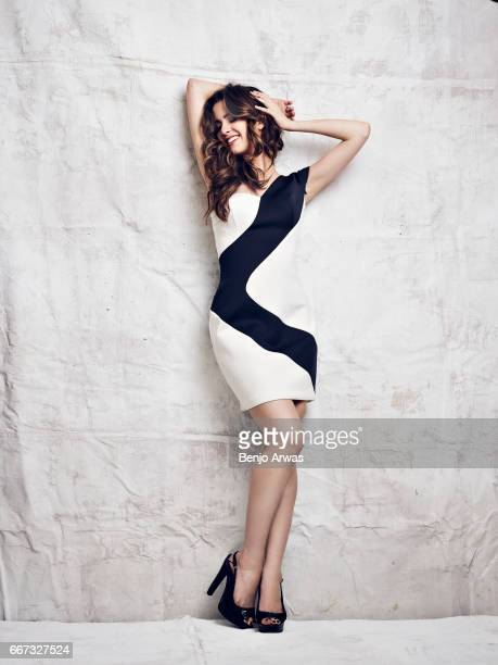 Actress and singer Laura Marano is photographed for Composure Magazine on October 12 2016 in Los Angeles California