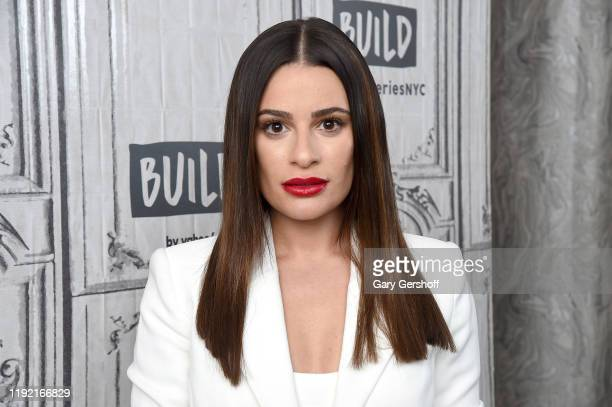 "Actress and singer Lea Michele visits the Build Series to discuss the album ""Christmas in the City"" and the ABC/Freeform film ""Same Time, Next..."