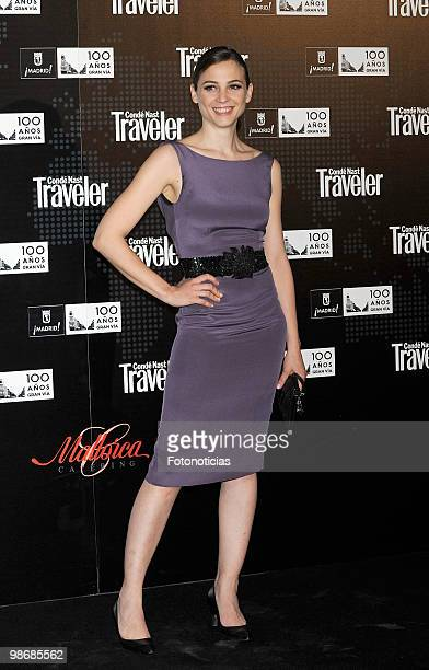 Actress and singer Leonor Watling attends 'Conde Nast Traveler 2010' awards ceremony held at the Jardines de Cecilio Rodriguez on April 26 2010 in...