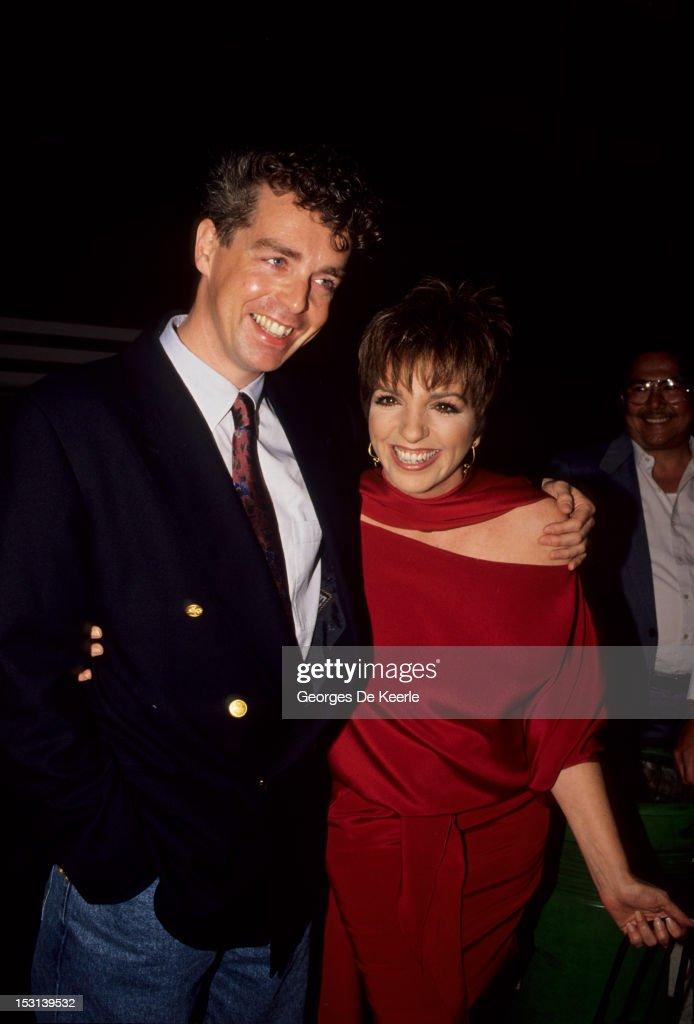 Liza Minnelli And Neil Tennant : News Photo