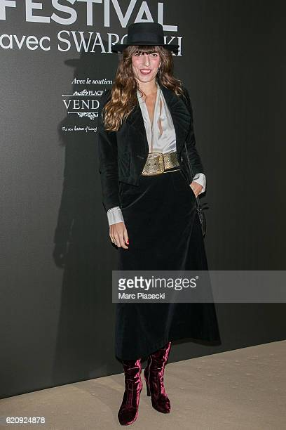 Actress and singer Lou Doillon attends the Vogue Fashion Festival dinner at Hotel Potocki on November 3 2016 in Paris France