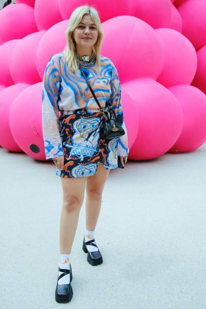FRA: Victoria/Tomas : Front Row -  Paris Fashion Week - Womenswear Spring Summer 2022