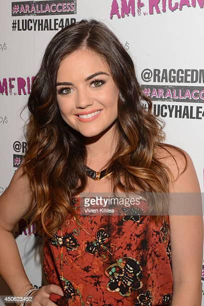 Actress and singer Lucy Hale makes an appearance at Macy's Sherman Oaks For American Rag's ALL ACCESS Campaign at Macy's Sherman Oaks on June 14 2014...