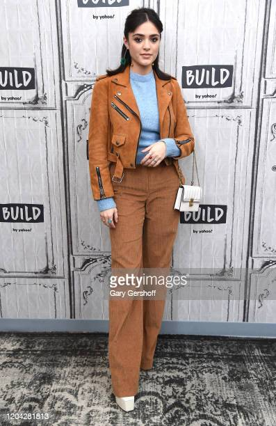 """Actress and singer Luna Blaise visits the Build Series to discuss the NBC series """"Manifest"""" at Build Studio on February 05, 2020 in New York City."""