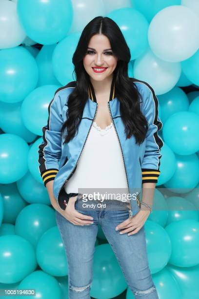 Actress and Singer Maite Perroni joins Proactiv for their 2018 Back To School Initiative at Nestle Skin Health SHIELD Center on July 25 2018 in New...
