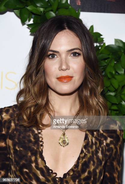 Actress and singer Mandy Moore arrives at 20th Century Fox Television and NBC's This Is Us FYC screening and panel at The Theatre at Ace Hotel on May...