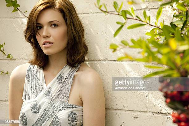 Actress and Singer Mandy Moore is photographed for Women's Health