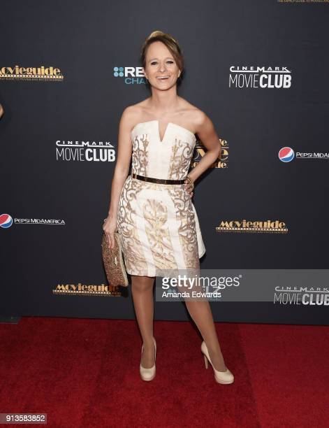 Actress and singer Maria Elena Infantino arrives at the 26th Annual Movieguide Awards Faith And Family Gala at the Universal Hilton Hotel on February...