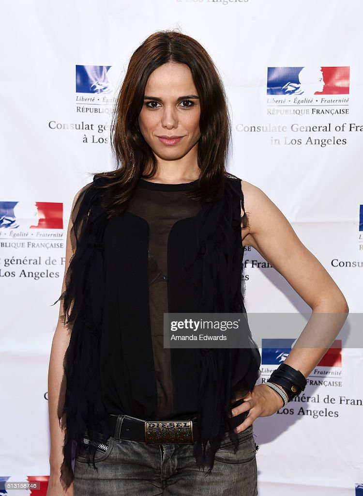 Champagne Brunch Reception Honoring The French Nominees For The 88th Academy Awards : Photo d'actualité