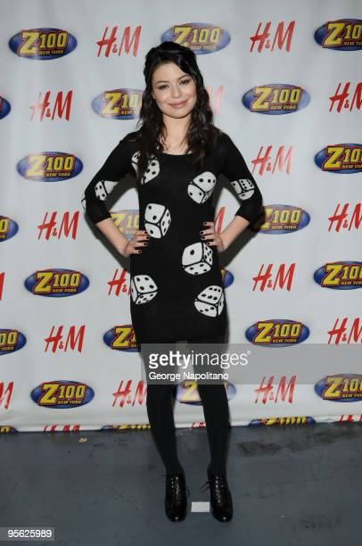 Actress and singer Miranda Cosgrove attends Z100's Jingle Ball 2009 at Madison Square Garden on December 11 2009 in New York City