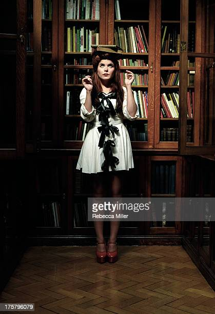 Actress and singer Paloma Faith is photographed for The Stool Pigeon on September 1 2008 in London England PUBLISHED IMAGE