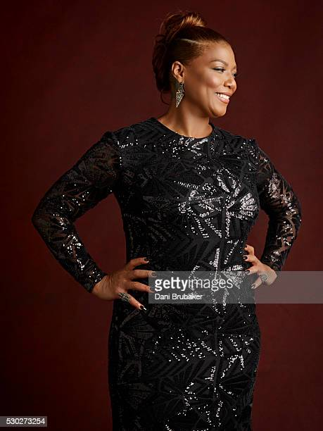 Actress and singer Queen Latifah is photographed for Peoplecom on January 30 2016 in Los Angeles California