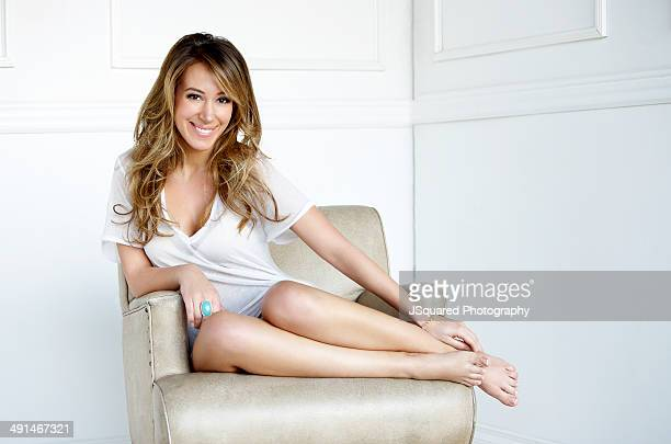 Actress and singer song writer Haylie Duff is photographed for Self Assignment on February 8 2010 in Los Angeles California