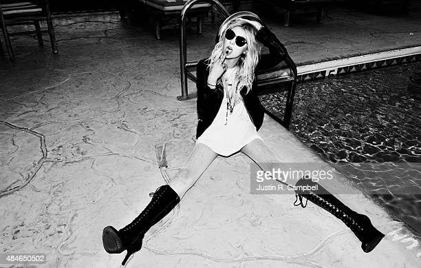 Actress and singer Taylor Momsen is photographed for Just Jared on October 8 2013 in Los Angeles California