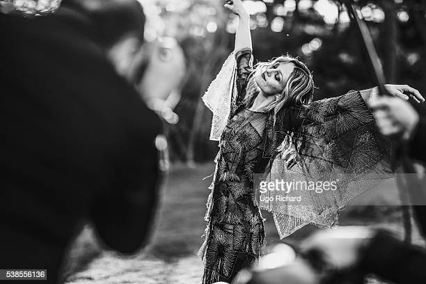 Actress and singer Vanessa Paradis is photographed for Self Assignment on May 15 2016 in Cannes France