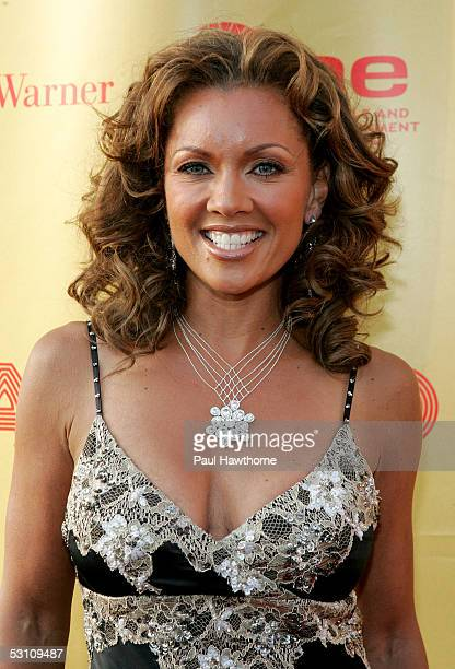 Actress and singer Vanessa Williams attends the Apollo Theater 2005 Spring Benefit The Magic Lives On at the Apollo Theater June 20 2005 in New York...