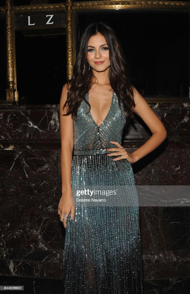 Actress and singer Victoria Justice attends 2017 ARD Foundation 'A Brazilian Night' at Cipriani 42nd Street on September 7, 2017 in New York City.